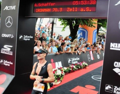 Ironman Zell am See 2016 finish